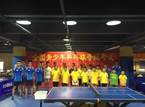 全国青少年乒乓球等级考试