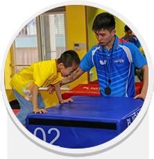 青少年体育乒乓球训练