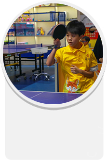 青少年乒乓球训练